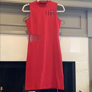 Red cut out dress size 6/34